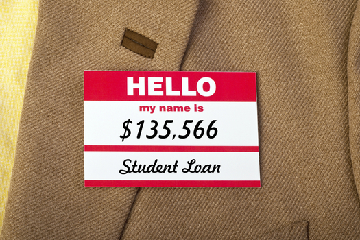 Wisconsin is third in the nation in student loan debt, and an advocate says Gov. Scott Walker's ideas on relieving the burden don't go far enough. (mj0007/iStockPhoto.com)