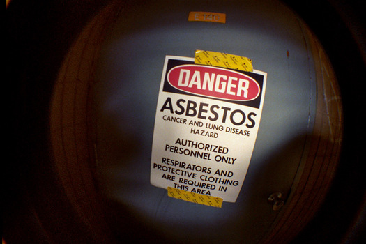 Asbestos was used extensively in construction, shipbuilding and steel mills. (Joey Gannon/Flickr)