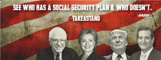 One group is demanding that presidential candidates make their positions on preserving Social Security known before the March 1 primary election. (AARP Arkansas)