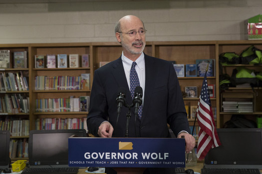 Governor Wolf is calling for a $377 million increase in K-12 funding for this year. (Gov. Tom Wolf/flickr.com)