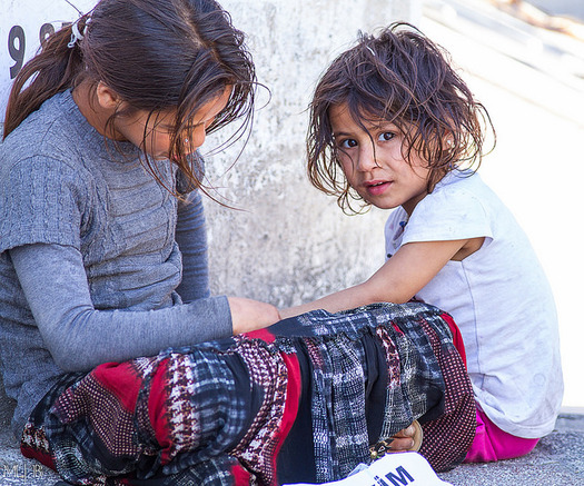The Tennessee Senate passed a resolution directing the state attorney general to file a lawsuit against the federal government for allegedly failing to consult with the state on refugee resettlement. Pictured here are Syrian children in a refugee camp in Syria. (Mehmet Bilgin/flickr.com)