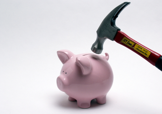Fewer than half of all Americans are putting as much money into savings as they should, according to the Consumer Federation of America. (mconnors/morguefile)