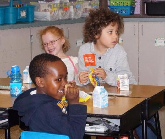 Some 290,000 Arkansas children quality for free or reduced-price lunch at school, and there's an effort under way to make sure they get breakfast too. (Arkansas Hunger Relief Alliance)