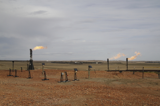 Some North Dakota tribal leaders are backing plans to clarify when oil companies owe royalties on flared gas. (iStockphoto)