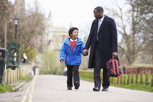 A federally funded project is coming to Chicago to help black fathers develop stronger relationships with their sons. (iStockphoto)