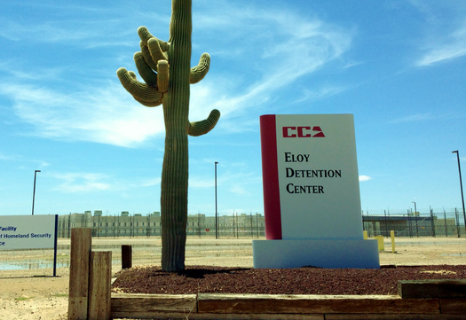 A new report says dozens of immigrants have died because of substandard medical care at ICE's Eloy Detention Center in Arizona and in other locations. (OpenSocietyFoundations.org)