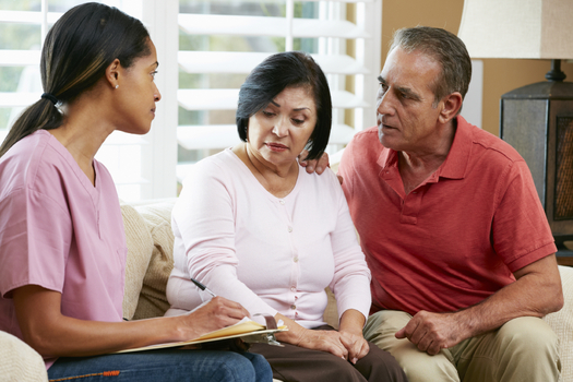 Only 23 percent of older Latinos have Medicare with supplemental coverage, compared to 50 percent of non-Latinos. Colorado groups are teaming up to change that. (monkeybusinessimages/iStockphoto)