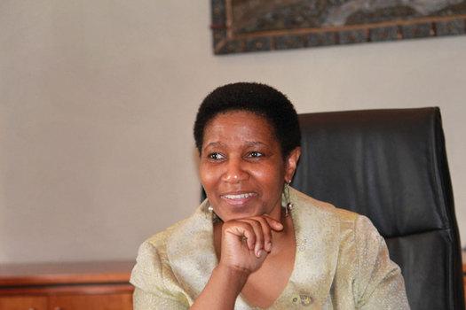 Phumzile Mlambo-Ngcuka, United Nations Undersecretary-General and executive director of U.N. Women speaks out on International Women's Day. (U.N. Women)