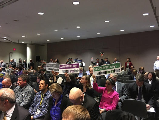 It was a controversial rate hike, and local advocates say the 10 percent MBTA boost will produce more traffic jams and harm the environment. (@LISC_BVanMeter)