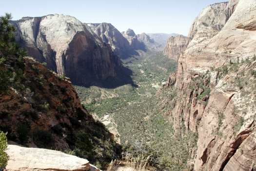 Zion National Park in southwestern Utah is one of more than a dozen national parks, monuments and public lands in the state. (National Park Service)