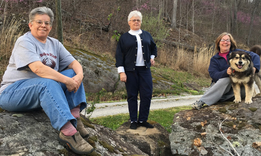 Environmental activism is flourishing in Kentucky's communities of nuns, a commitment the sisters describe as a sacred trust. (Laura Michele Diener)