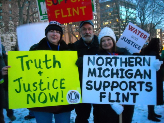 The women of Flint got the ball rolling on the response to the city's poisoned water. (Michigan NOW)