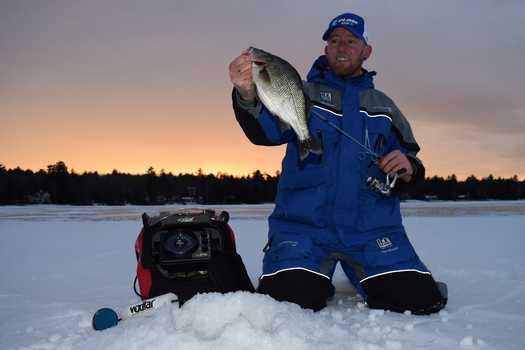 Those who make their living ice fishing and guides say extreme temperature changes is negatively impacting their bottom line. (Tim Moore Outdoors)