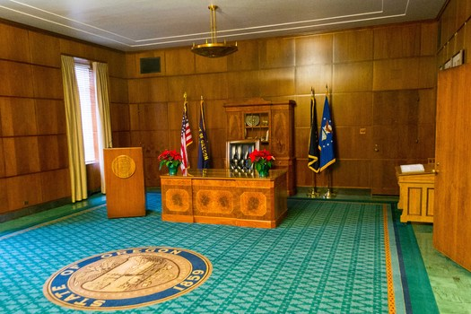 Two bills concerning sexual assault await Gov. Kate Brown's signature. (Visitor7/Wikimedia Commons)