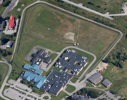 The Long Creek Development Center is among 80 old and large prisons that a new national campaign called Youth First says needs to be closed. (Google Earth)