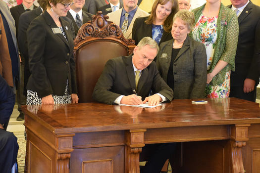With Gov. Dennis Daugaard's approval now official, South Dakota teachers are expected to see pay raises starting this fall. (South Dakota Education Association)