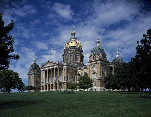 The Iowa Legislature could adjourn within the next few weeks, close to the April 19 target. (Library of Congress)