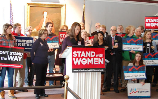 Supporters of an anti-discrimination measure to protect pregnant women in New Hampshire workplaces say they're optimistic that SB 488 will pass. (Granite State Progress)
