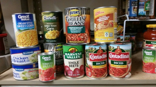 The food you're eating may be dangerous because of the chemicals in the lining of the cans, according to a new report from a coalition of nonprofit organizations. (Veronica Carter)