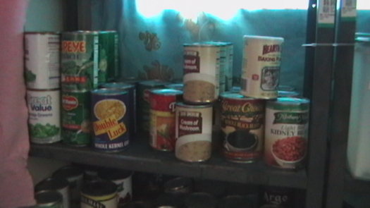 A coalition of nonprofits has released a report saying chemicals in the lining of canned food items that you have in your cupboard may be dangerous. (Virginia Carter)