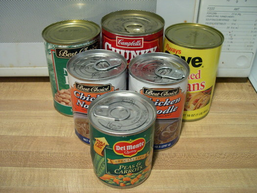 BPA, found in some food can linings, is linked to breast and prostate cancer, infertility, diabetes, obesity and other health problems. (sideshowmom/morguefile)