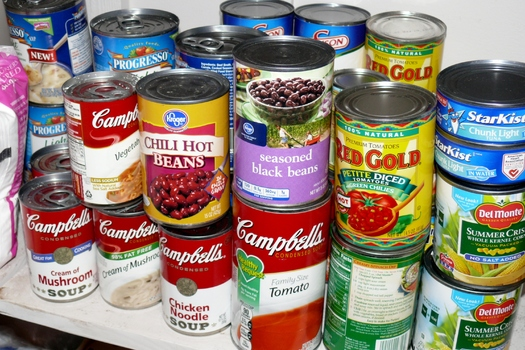 Analysis of canned foods found that 67 percent of the cans tested had BPA in the lining. (Greg Stotelmyer)