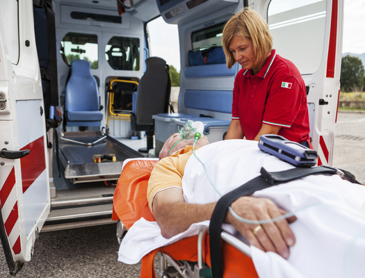 Like much of the country, North Dakota's emergency ambulance system is facing staffing and funding shortages. (iStockphoto)