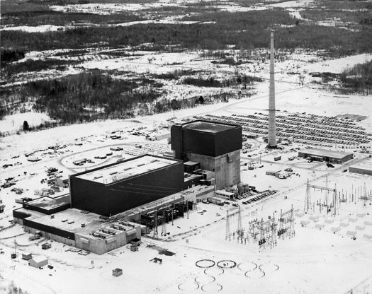 The Fitzpatrick Nuclear Power Plant will shut down in January. (energy.gov/Wikimedia Commons)