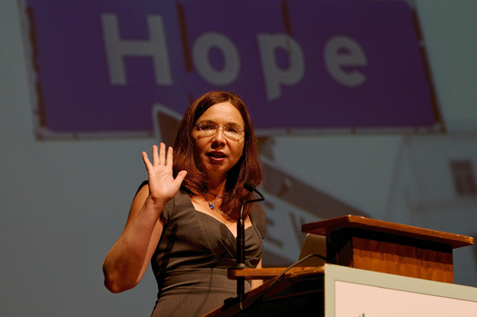 Katharine Hayhoe speaks in several North Carolina cities this week, combining an academic and faith perspective on climate change. (Martin Voelkel)