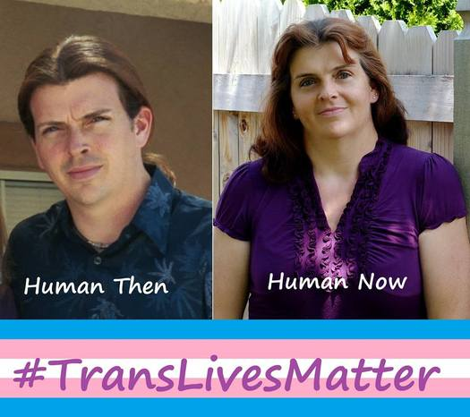 March 31 is International Transgender Day of Visibility and blogger Meggan Sommerville is involved in a social media campaign underway to encourage acceptance. (Meggan Sommerville)