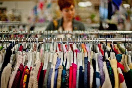 A blogging mom says Granite Staters can enjoy life and find designer clothes at deep discounts at secondhand shops. (wallingfordseniors.org)