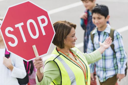 As part of National Walking Day, Minnesota health advocates are asking for more funding for the state's Safe Routes to School program. (iStockphoto)