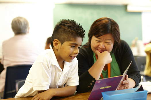 Two-thirds of fourth-graders are not reading at grade level in the United States, according to the Annie E. Casey Foundation. (Reading Partners)
