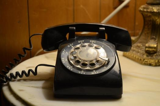 Lawmakers in Sacramento are holding a hearing today on a bill to allow AT&T to phase out landline service in four years. (kconnors/morguefile)