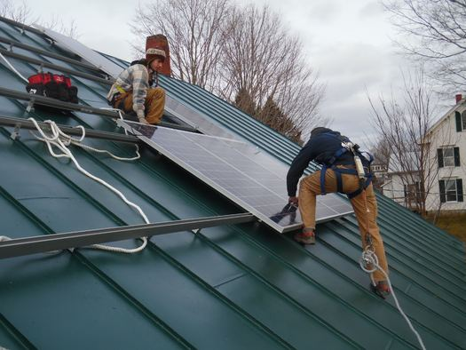 State lawmakers are expected to take a vote this week on a measure that supporters say is crucial to ensuring Maine's solar industry does not die on the vine. (Insource Renewables)