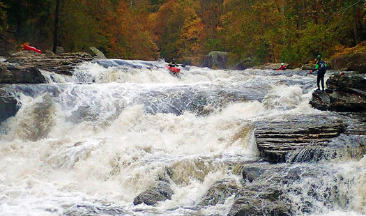 The Russell Fork River, an outdoor gem on the Kentucky-Virginia border, is on a list of America's Most Endangered Rivers of 2016. (Steve Ruth)