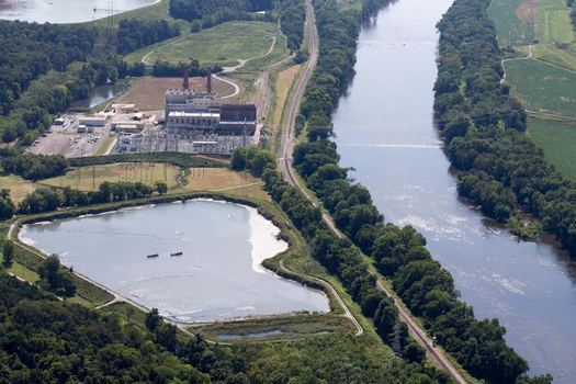 The drinking water for 900,000 Indiana residents is threatened by contamination from coal-ash lagoons, according to the Hoosier Environmental Council. (Nick Katula)