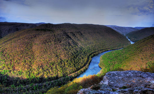 Conservationists say a steady funding source for the Land and Water Conservation Fund will help protect areas like the New River Gorge. (M. Ahmed/West Virginia Rivers Coalition)