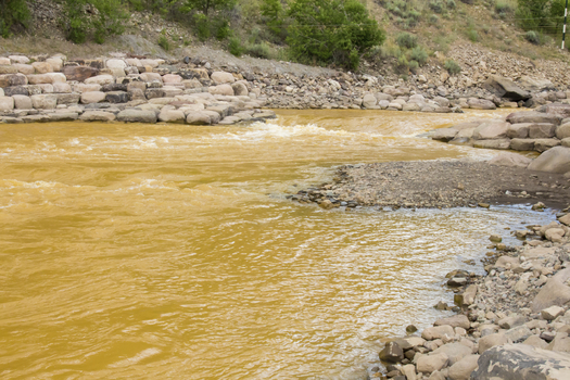 A 2015 spill at Colorado's Gold King Mine dumped 3 million gallons of mine waste and toxic substances into the Animas and San Juan rivers. (KaraGrubis/iStockphoto)