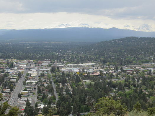 Bend is considering expansion of its urban growth boundary to accommodate the city's rapidly-growing population. (Another Believer/Wikimedia Commons)