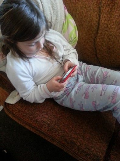 Excessive use of screens is linked to attention problems, poor school performance, sleep problems and emotional difficulties among children. (Sierra Black)