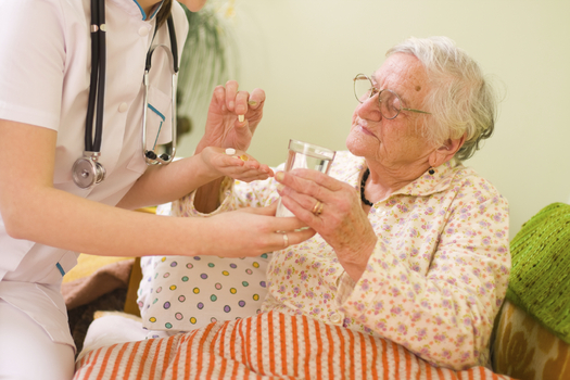 Illinois home-care workers could soon no longer be able log overtime hours, which advocates for seniors and people with disabilities say compromises both the workers and their clients. (iStockphoto)