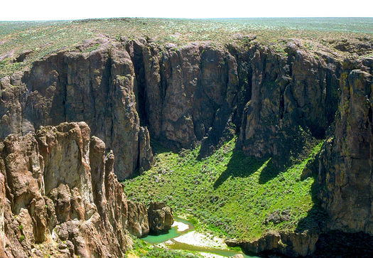 The Owyhee Canyonlands cover more than 2 million acres in southeast Oregon near the Idaho border. (Bureau of Land Management Oregon and Washington)