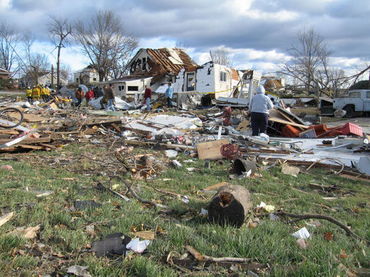 A bill using funds already in place says Iowa recovery efforts could be better coordinated after a natural disaster. (National Weather Service)