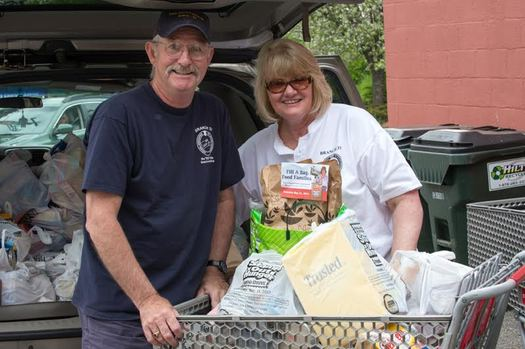 Letter carriers in New Hampshire are hoping for a lot of heavy lifting on Saturday as they collect bags of nonperishable food for local food pantries on their mail routes. (National Letter Carriers Association).