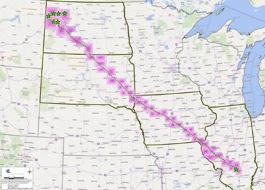 The Bakken Oil Pipeline project still awaits construction approval from the U.S. Army Corps of Engineers (Wikimedia Commons)