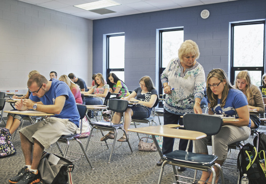 A new report shows Kentucky has had the sixth-largest decrease in state funding for higher education since 2008. (KCTCS)