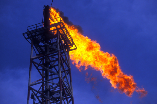 EPA rules finalized this week will require new oil and gas rigs to capture and sell methane rather than release it into the atmosphere. (Brasil2/iStockphoto)