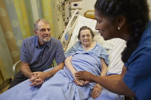 The CARE Act ensures hospitals give instructions to a caregiver and the patient upon discharge. (AARP)