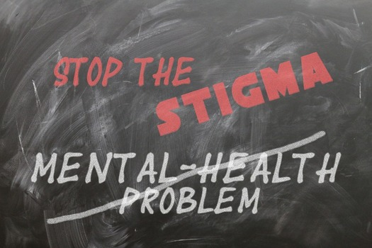 Using people-first language to talk about mental disorders can help fight the stigma of these health conditions. (pixabay)